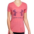 Threadborne Training Graphic Twist SS Tee Women