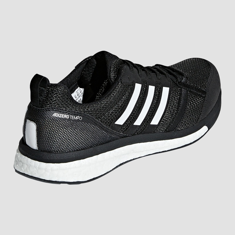 ADIDAS ADIZERO TEMPO Boost 9 Mens Running Shoes White