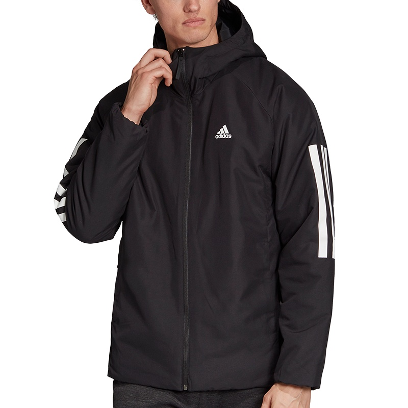 adidas Back to Sports 3 Streifen Hooded Insulated Jacke