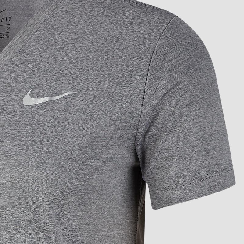 Nike Miler V Neck Top Women Running Shirts bei