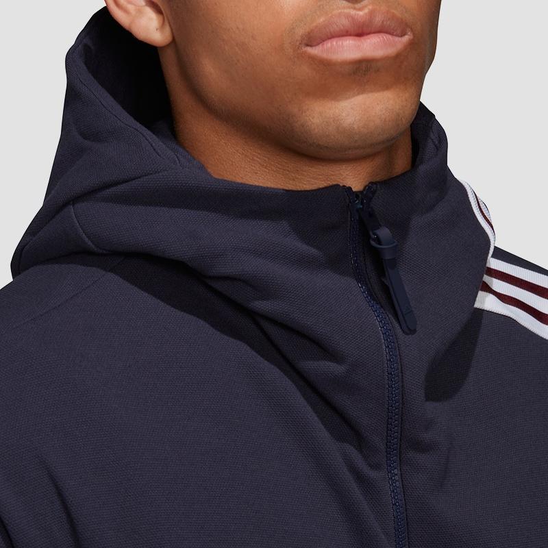 adidas Z.N.E. 3 Stripes Hoodie Fast Release Freizeit Jacken bei