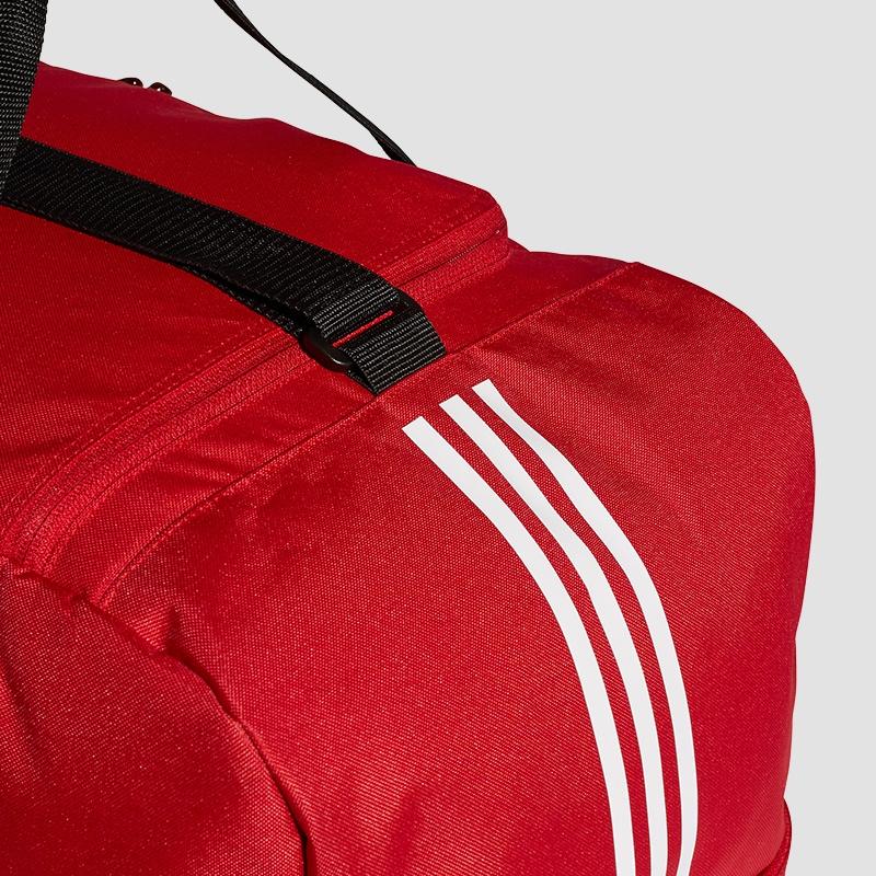 72c52461395f0 adidas Tiro Duffelbag mit Bodenfach L(rot) - Fussball Taschen bei ...