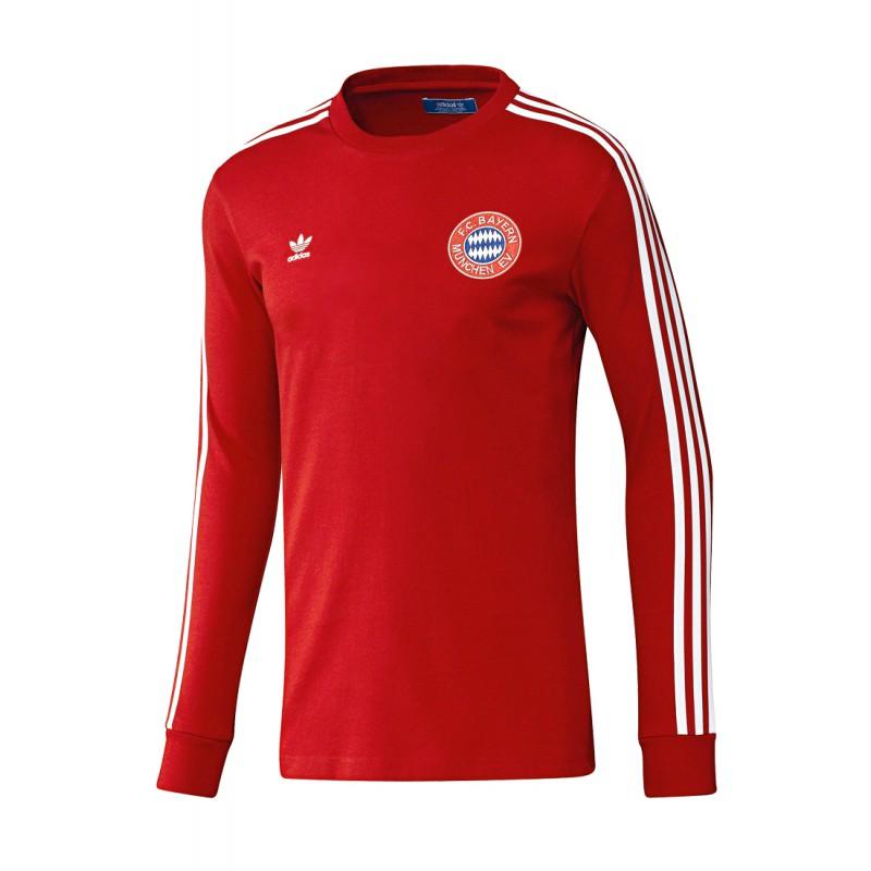 Adidas Fc Bayern Retro Shirt Sc24 Com Fussball