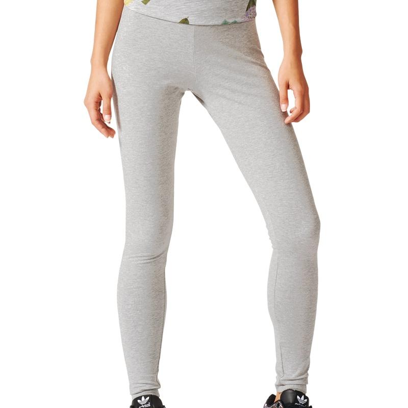 adidas leggings women grau freizeit hosen bei aj7655. Black Bedroom Furniture Sets. Home Design Ideas