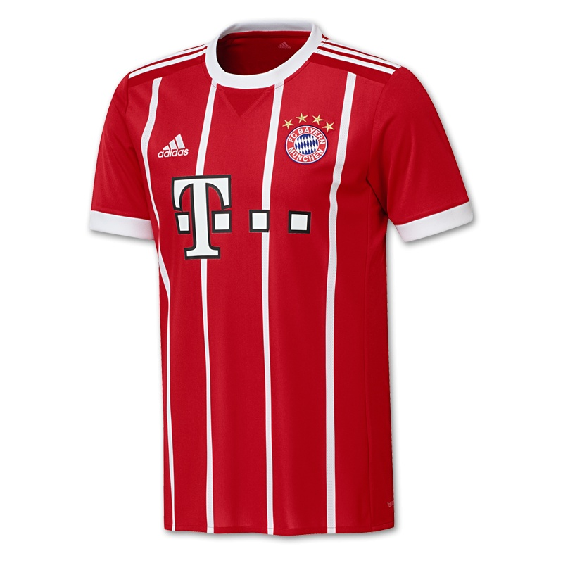 adidas   FC Bayern Home Jersey 20172018   Soccer Fans   Fußball