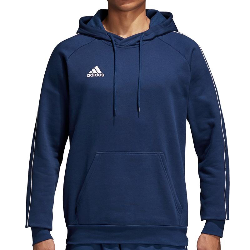 adidas Core 18 Hoody Kapuzensweatshirt   rot Teamsport