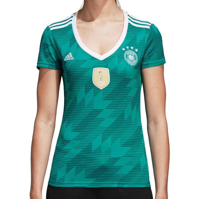 adidas DFB Away Jersey 2018 Women Fussball Fan Artikel bei