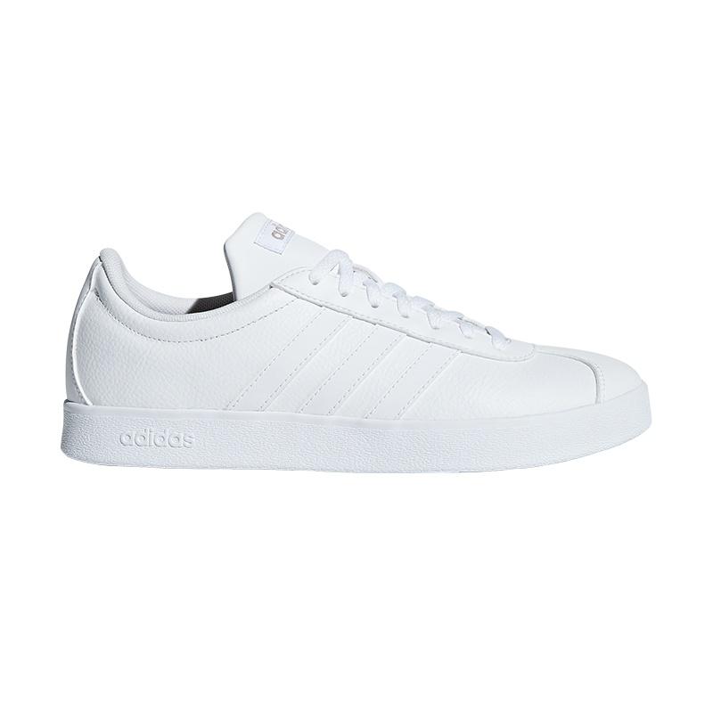 adidas VL Court 2.0 Damen Sneaker Weiß Schuhe, Größe:36 23