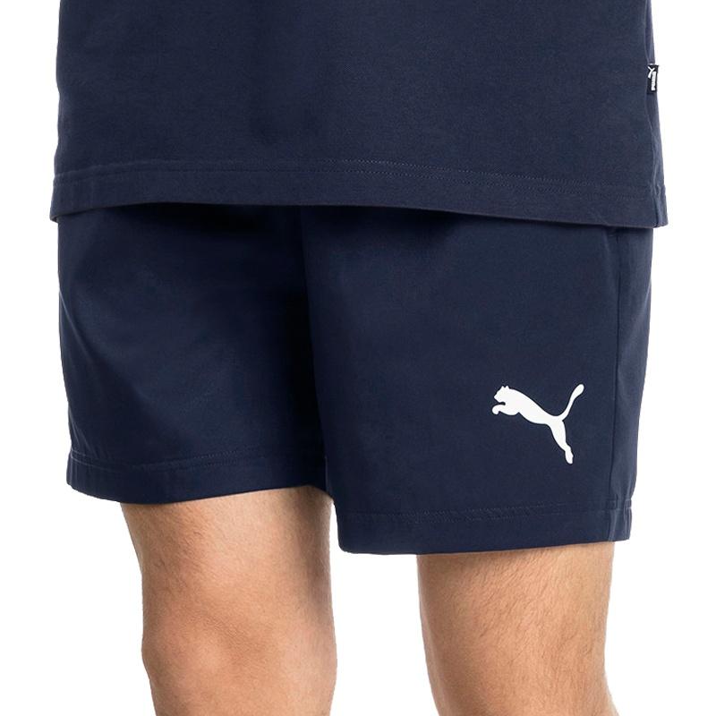 a54e28fe Puma Active Woven Short 5 inch(blau) - Fitness Hosen bei www.sc24 ...