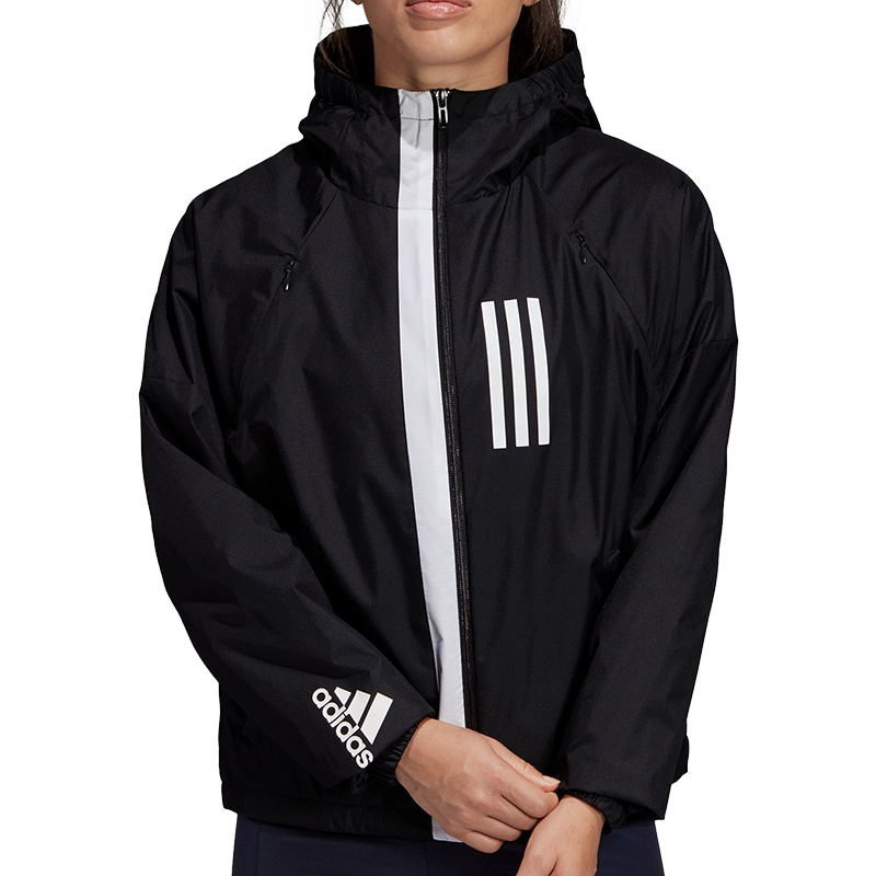 15a411462ba5c6 adidas WND Fleece Jacket Women(schwarz) - Freizeit Jacken bei sc24 ...