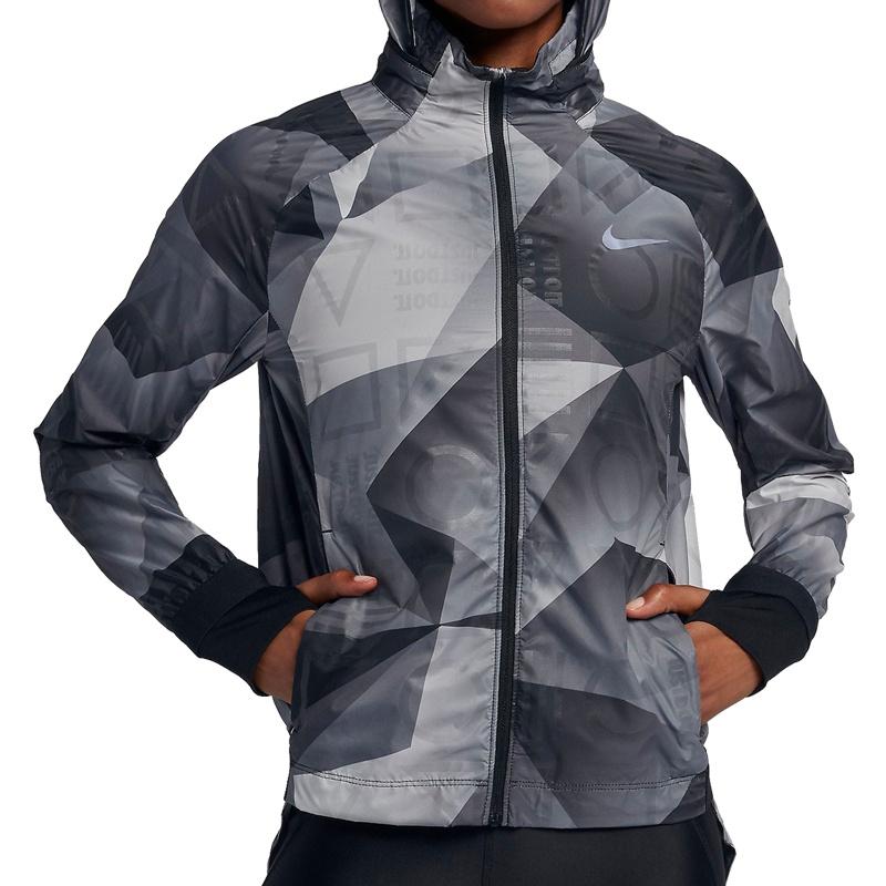 Nike Shield Hooded Performance Jacket Women(grau) - Running Jacken ... 19cb8e5dc5