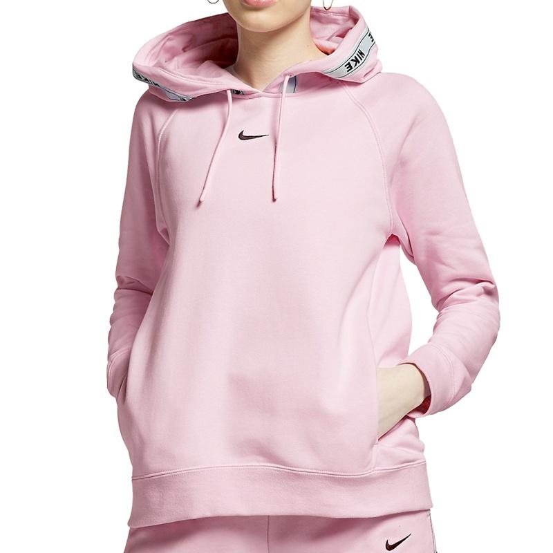 brand new 2d967 e29d8 Nike Logo Tape Hoodie Women - Freizeit Sweatshirts bei www.sc24.com
