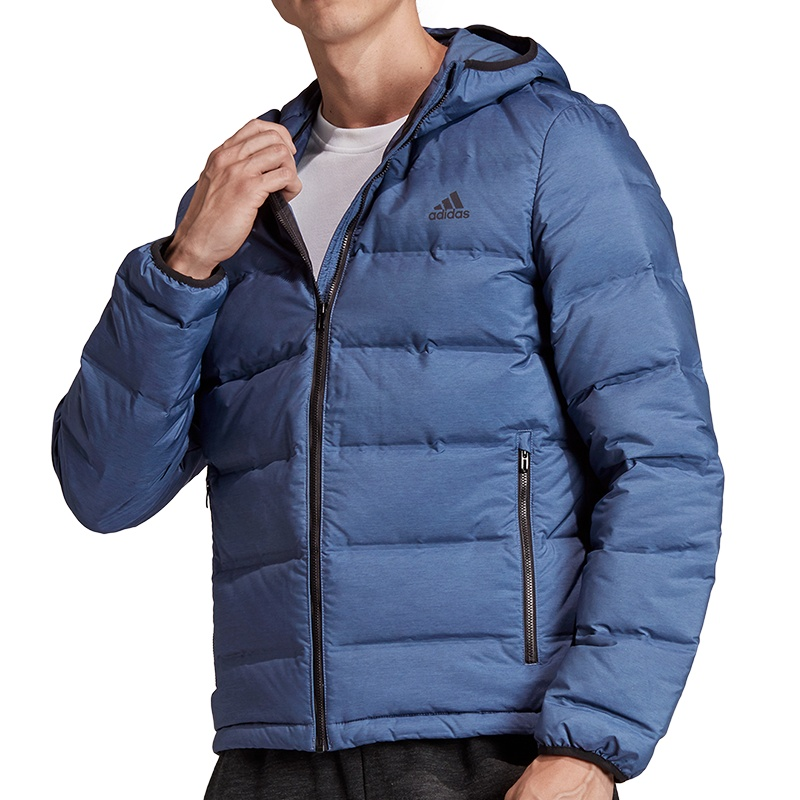 adidas Helionic Down Hooded Jacket Freizeit Jacken bei