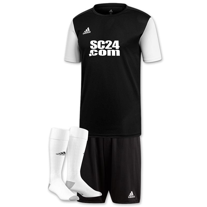 adidas Trikotsatz Estro 19 mit Logo Fussball Trikotsaetze bei