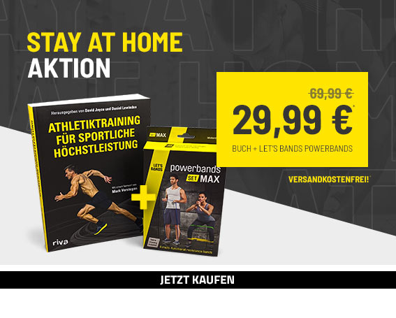Aktion StayAtHome - 40 Euro sparen!