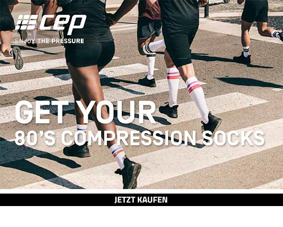 CEP Run 80s Socks 3.0