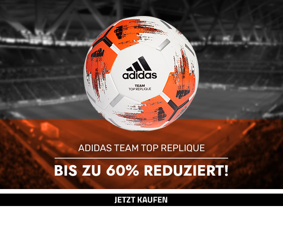 adidas Team Top Replique Trainingsball Aktion
