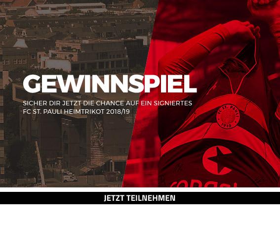 FC St. Pauli Heimtrikot 18/19 Gewinnspiel