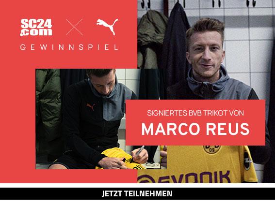 Slider Borussia Dortmund Heimtrikot 19/20 signiert von Marco Reus