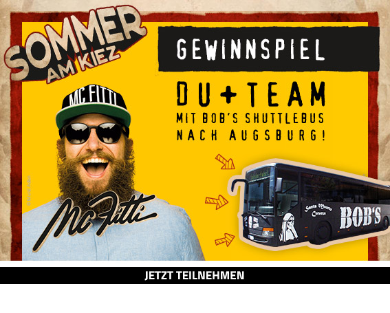 Gewinnspiel SOMMER AM KIEZ mit MC FITTI