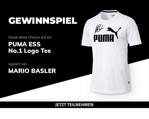 Gewinnspiel - PUMA ESS No.1 Logo Tee, signiert von Mario Basler