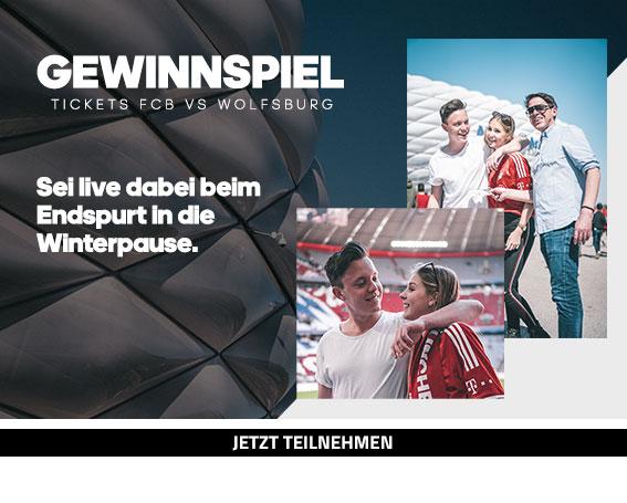 adidas x SC24.com - 1x2 Tickets für das Ligaspiel FCB vs. Wolfsburg
