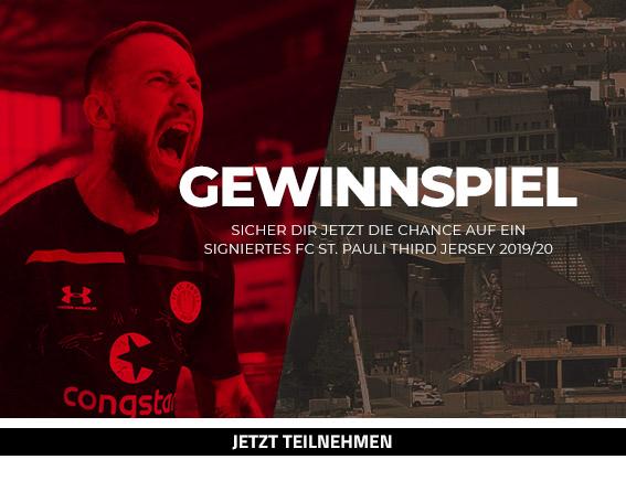 Gewinnspiel - Under Armour FC St. Pauli Third Jersey, signiert von der Mannschaft