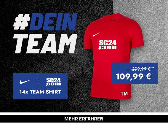 Nike x SC24.com Team Shirt Aktion (Rot)