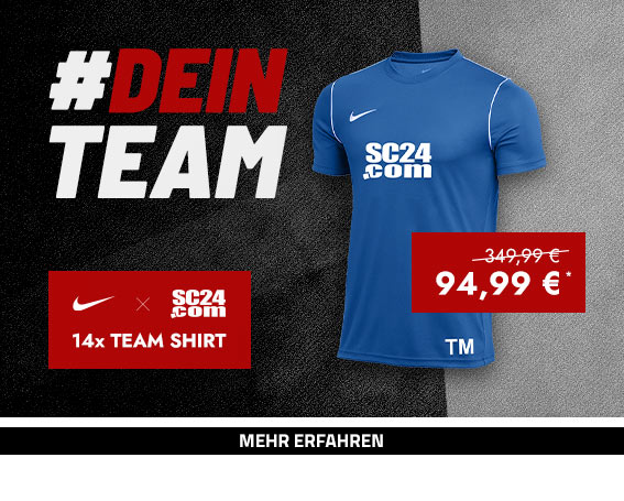 Nike x SC24.com Team Shirt (blau)