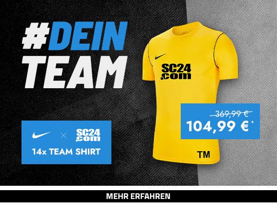 Nike x SC24.com Team Shirt (gelb)