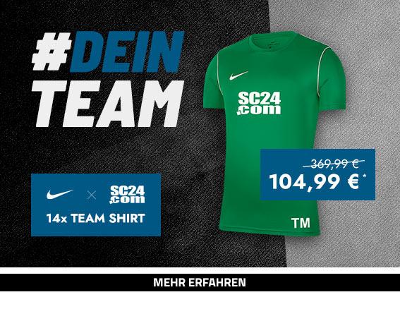 Nike x SC24.com Team Shirt (grün)