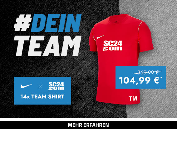 Nike x SC24.com Team Shirt (rot)