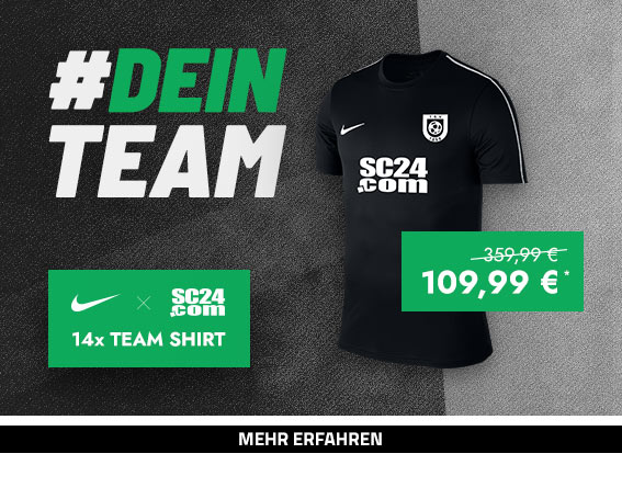 Nike x SC24.com Team Shirt Aktion