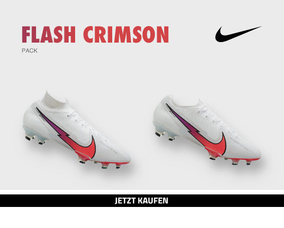 Nike Football Flash Crimson Pack