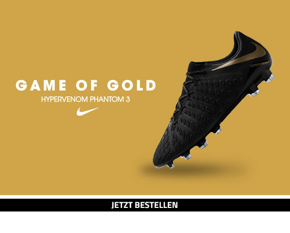 Nike Hypervenom Phantom 3 Game of Gold