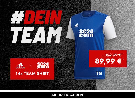 adidas x SC24.com Team Shirt Aktion