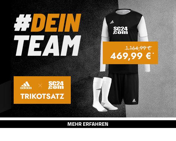 adidas x SC24.com Trikotsatz Longsleeve Aktion