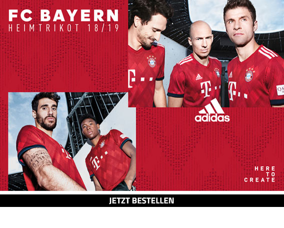 adidas FC Bayern München Heimtrikot 18/19