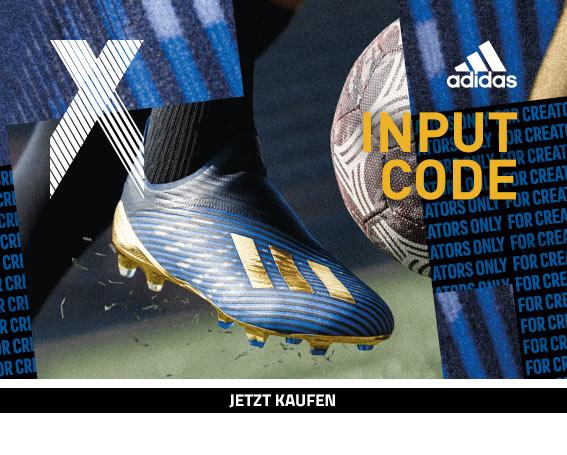 adidas X 19+ Input Code Pack