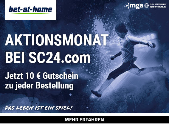 bet-at-home.com Aktionsmonat 10 Euro