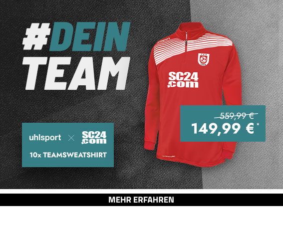 SC24.com x uhlsport Club Teamsweatshirt