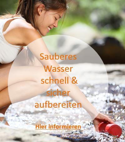 Wasseraufbereitung - sauber und sicher