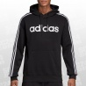 Essentials 3 Stripes Pullover Fleece Hoodie