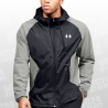 Stretch Hooded Zip Jacket