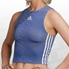 Zippable Ribbed Tanktop Women