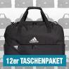 Tiro Duffelbag mit Bodenfach M 12er Taschenpaket