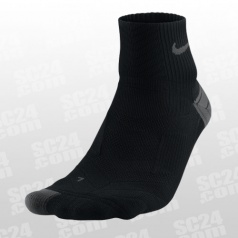 Elite Run Cushion Quarter Socks