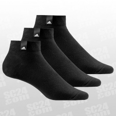 Performance Label Ankle Thin Socks 3Pack