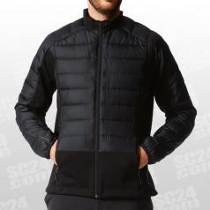 Hybrid Down Hooded Jacket