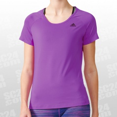 Basic Solid Performance Tee Women